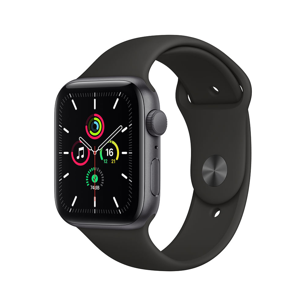 Smartwatch Apple Watch Se 44mm - Cinza/preto