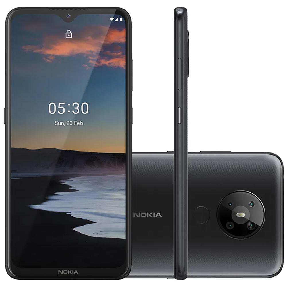 Celular Smartphone Nokia 5.3 Nk007 128gb Preto - Dual Chip