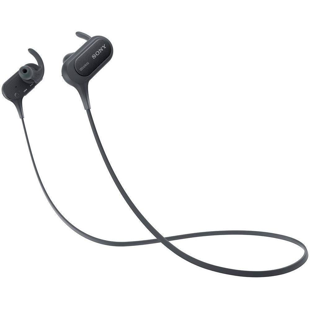 Fone de Ouvido Intra-auricular Esportivo Bluetooth Com Microfone Preto Sony Mdrxb50bsbzla