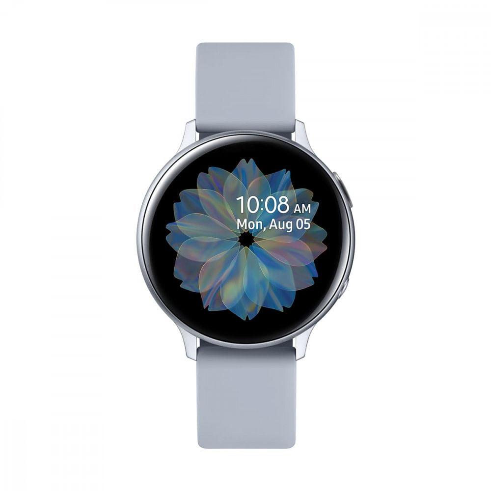 Smartwatch Samsung Galaxy Watch Active 2 Nacional - Prata Sm-r820nzspzto 44mm