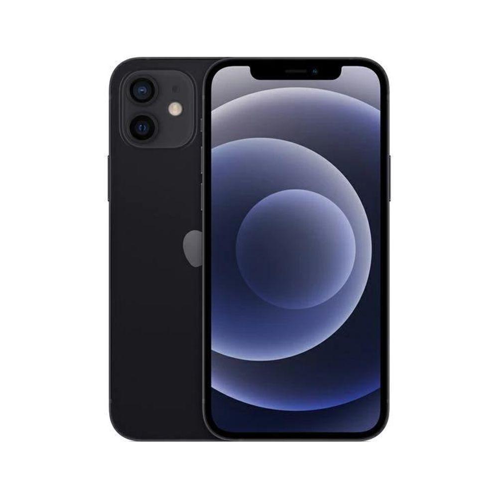 Celular Smartphone Apple iPhone 12 64gb Preto - 1 Chip